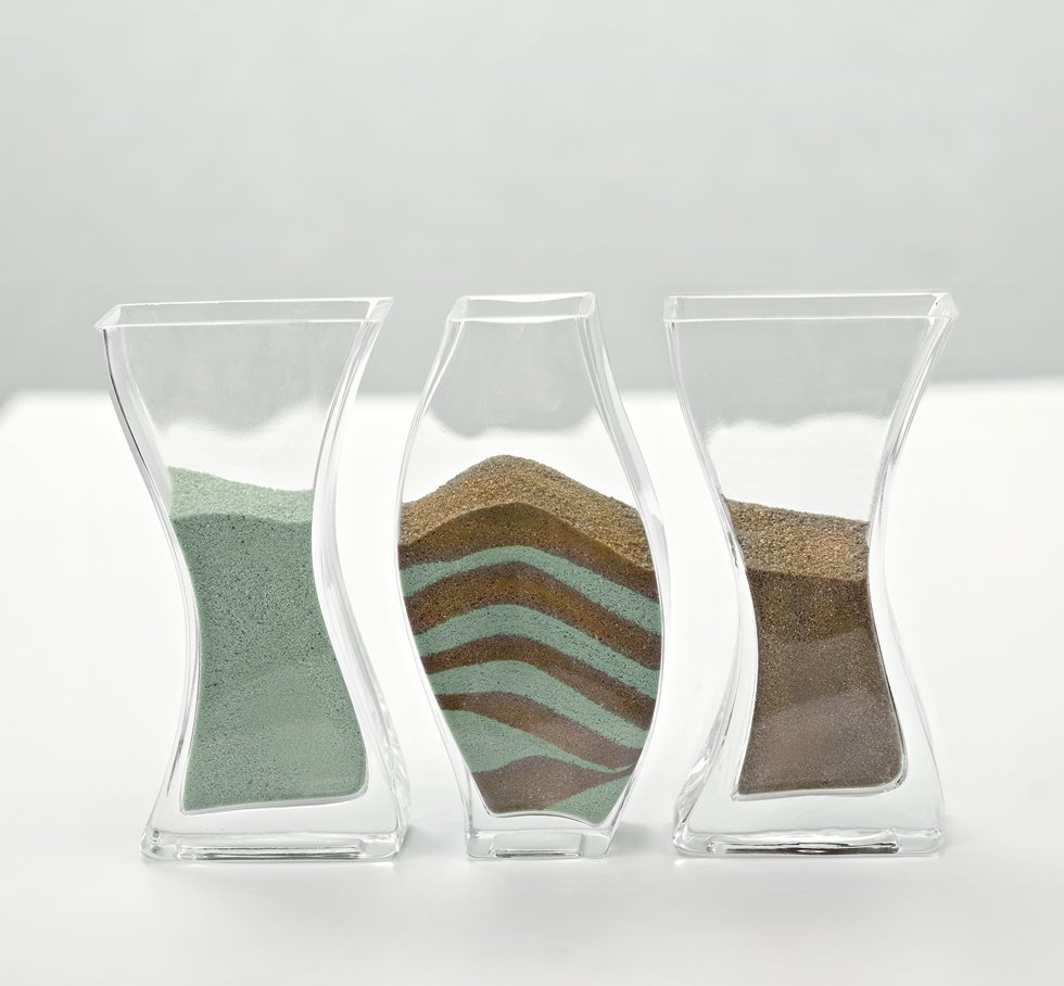 Sandzeremonie Vasen