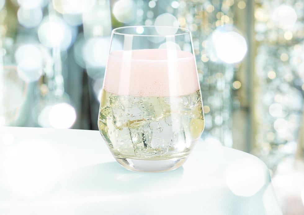 Außergewöhnlicher Sekt Cocktail