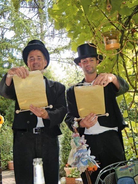 Hochzeitsbrauch Hochzeitsbitter