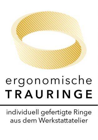 Logo ergoTRAURINGE by Goldschmiede im Fabrikle