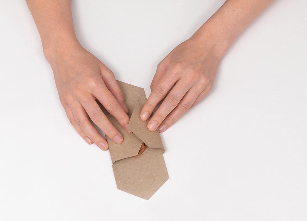 DIY Kekserpackung