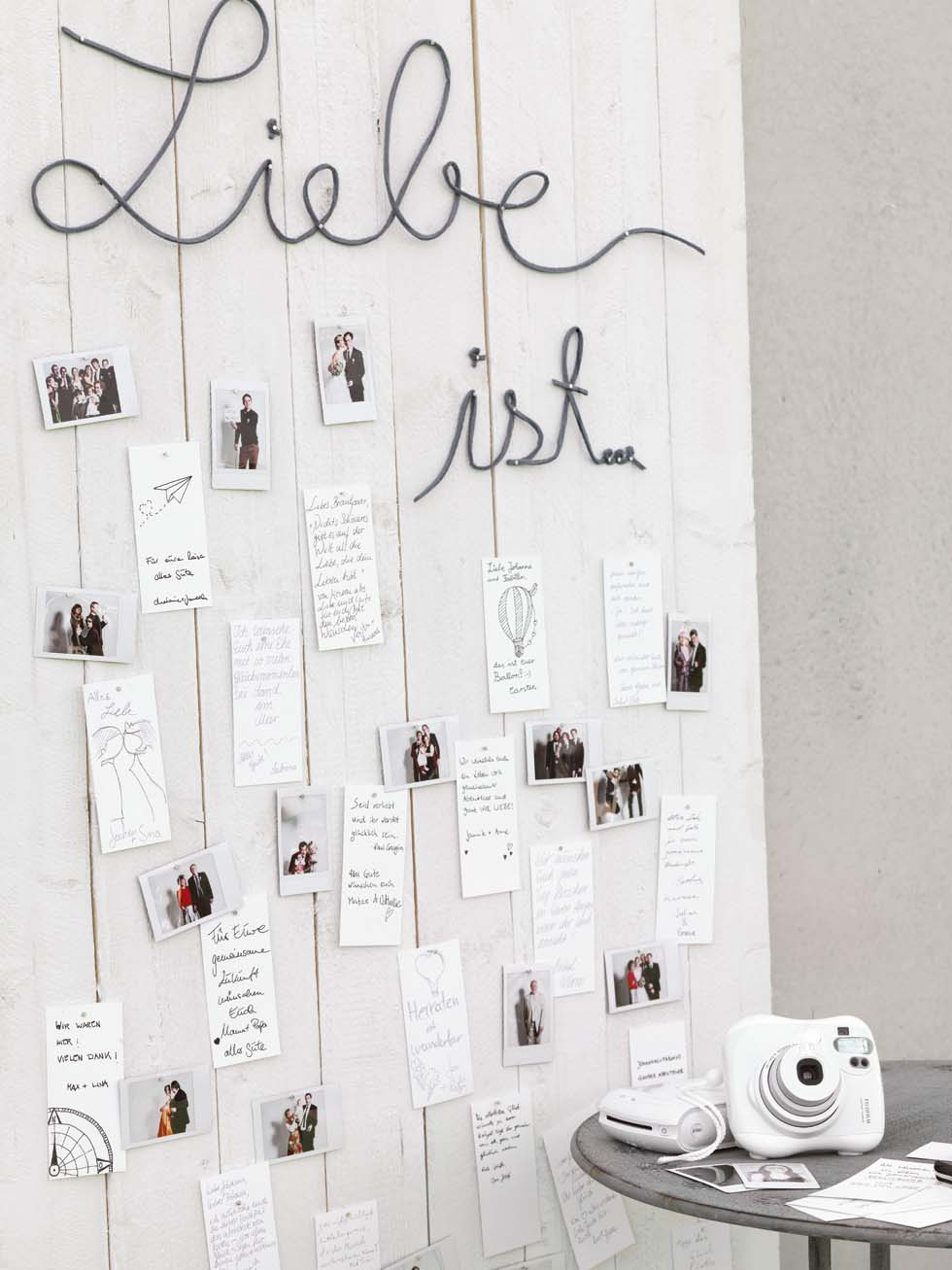 Show Your Love Die Wandgalerie Natureweddings Sabrina Tietz