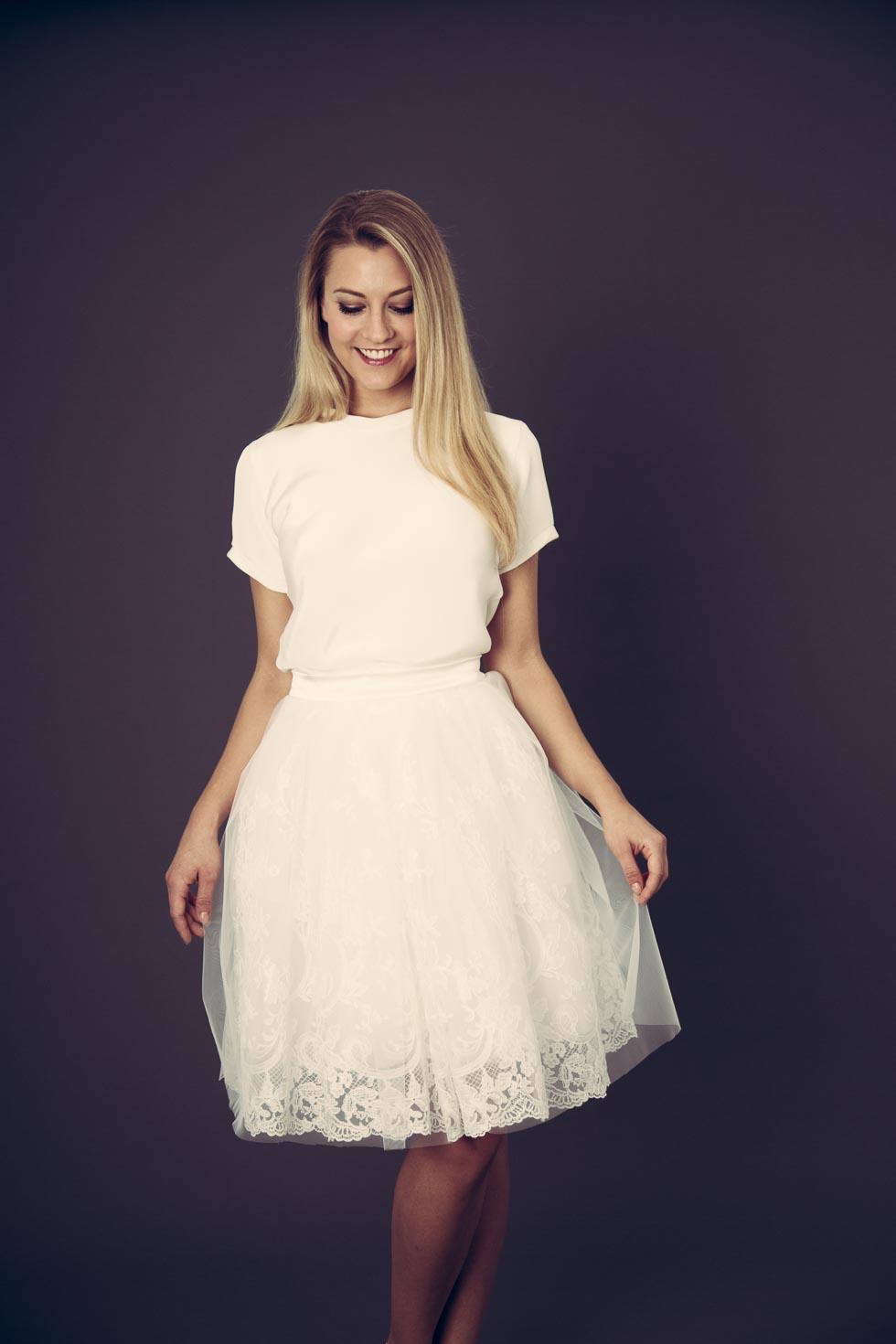 Brautkleider von Designerin Anne Wolf – Hochzeit planen mit weddingstyle