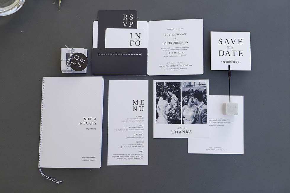 Hochzeitskarten Serie