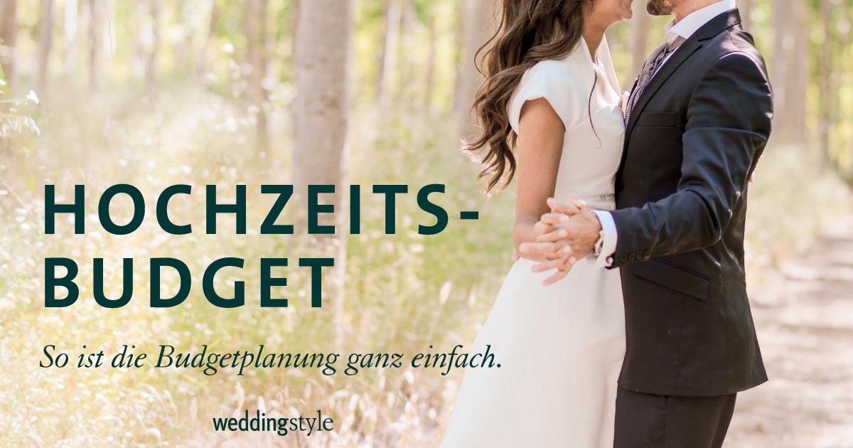 Hochzeitsbudget ganz einfach