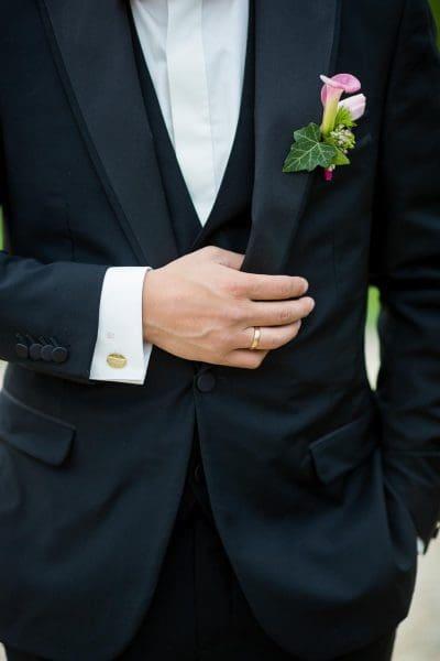 Hochzeitsanzug Anstecker Bräutigam
