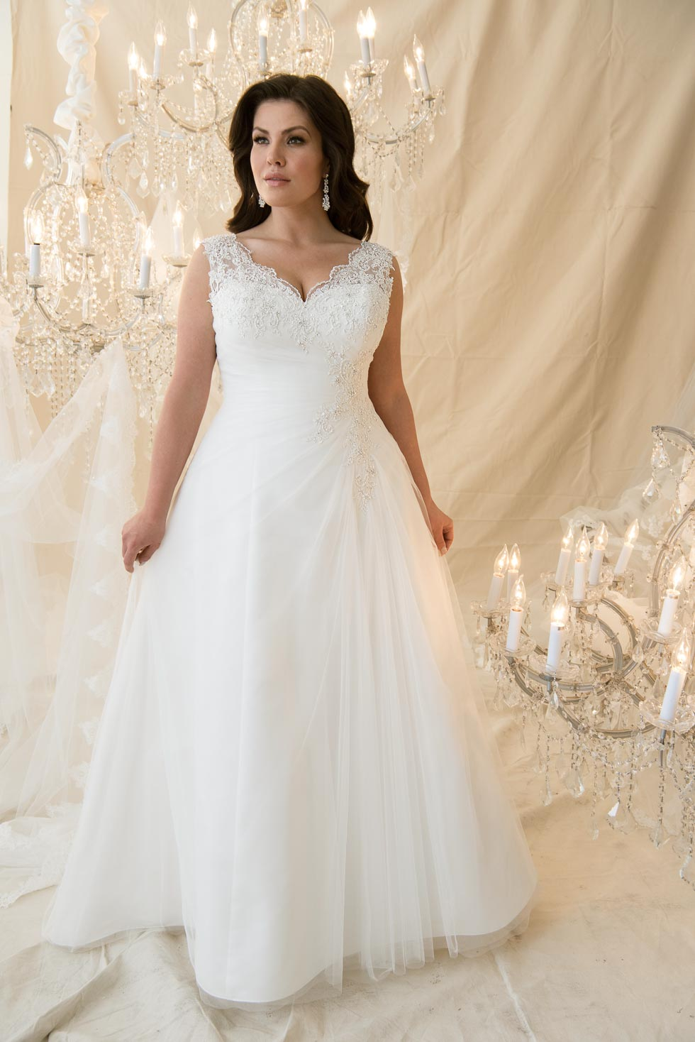 Callista Plus Size Brautkleider
