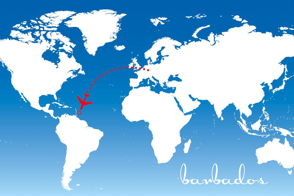 Flitterwochenziel Barbados