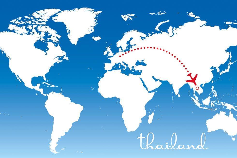 Flitterwochenziel Thailand