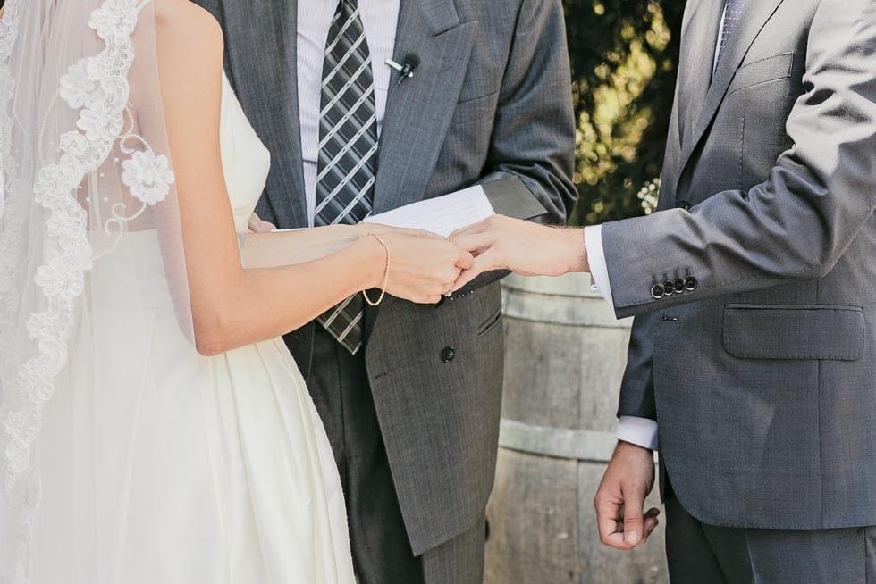 Klassische Eheversprechen Hochzeit