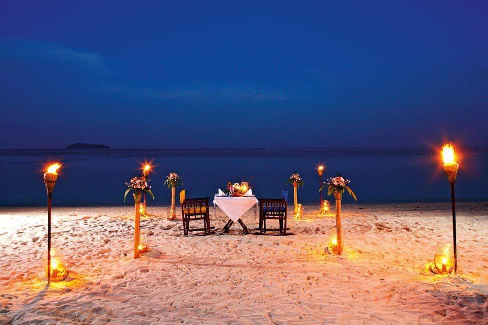 Abendessen in Thailand