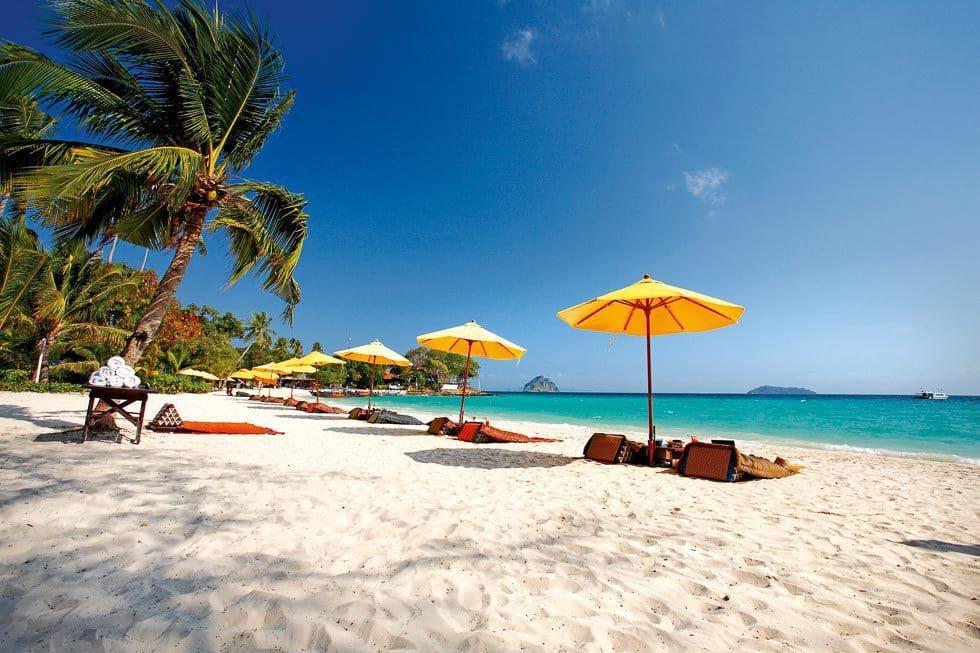 weißer Strand Thailand