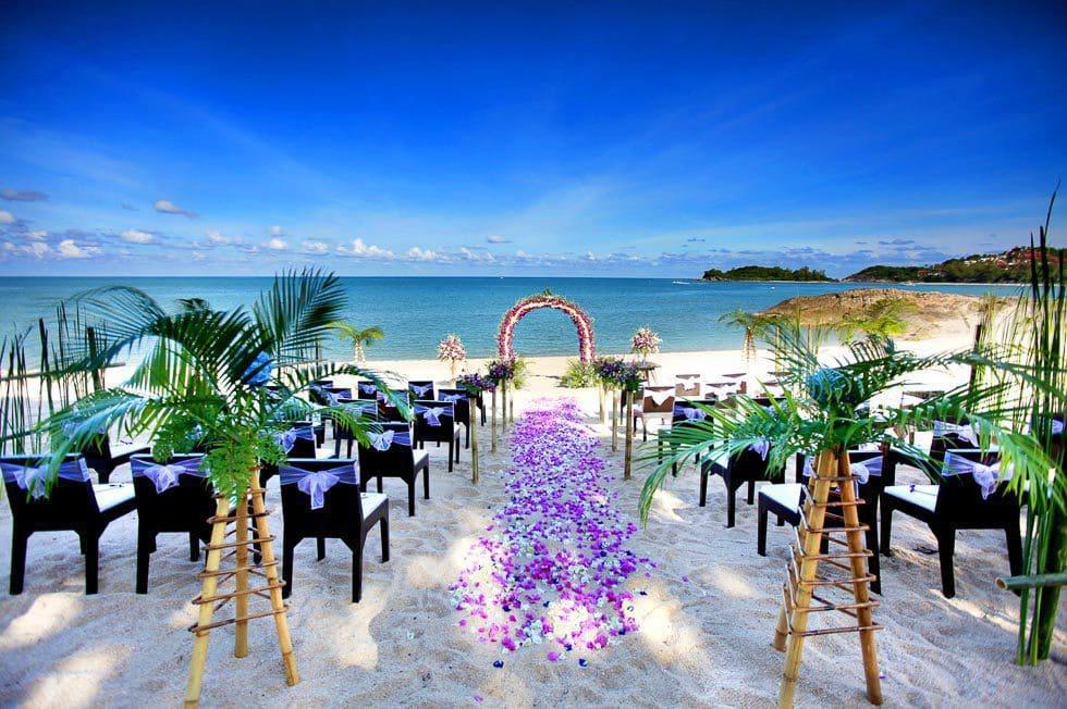 Heiraten a Strand Thailands
