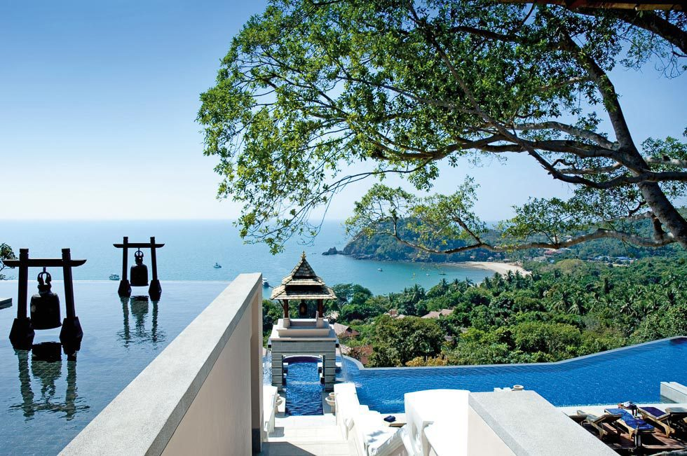 Schöne Aussicht Thailand