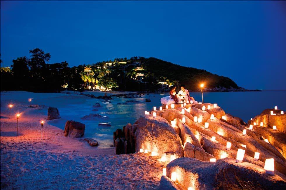 romantisches Thailand