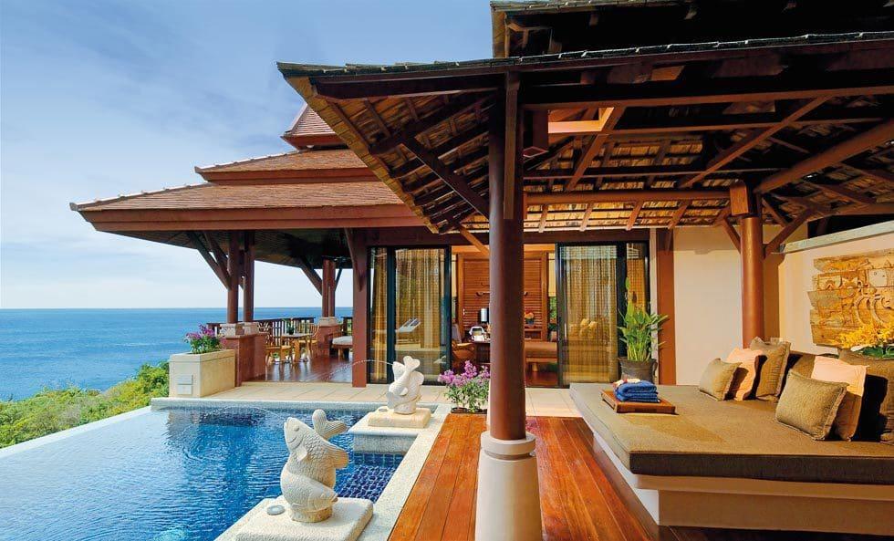 Thailands Luxuszimmer