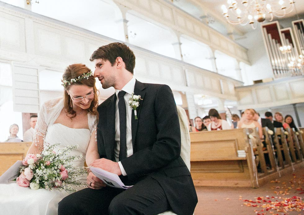 Ganz natürliche Hochzeit in Burg, Spreewald von hochzeitslicht