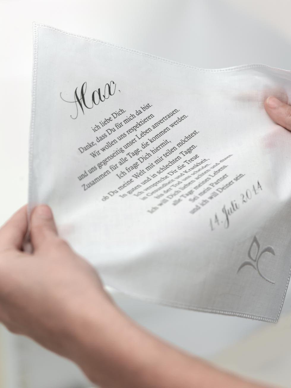 treueversprechen - Ehegelobnis Beispiele
