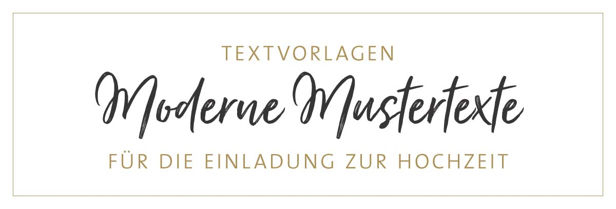 einladung hochzeit text moderne mustertexte. Black Bedroom Furniture Sets. Home Design Ideas
