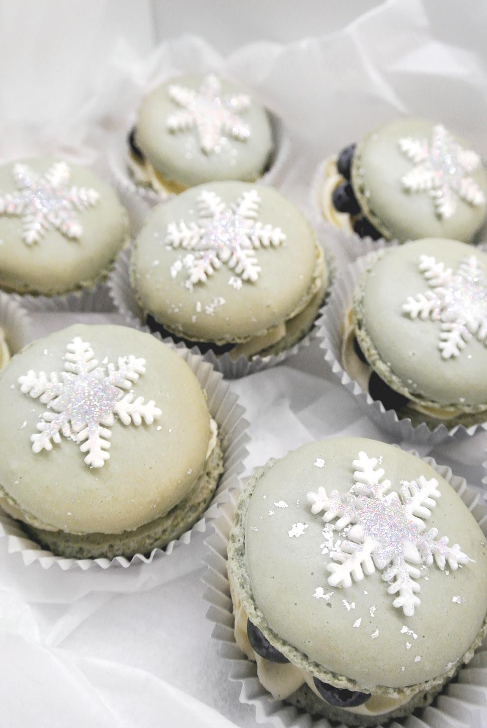 Wintermärchen Macarons