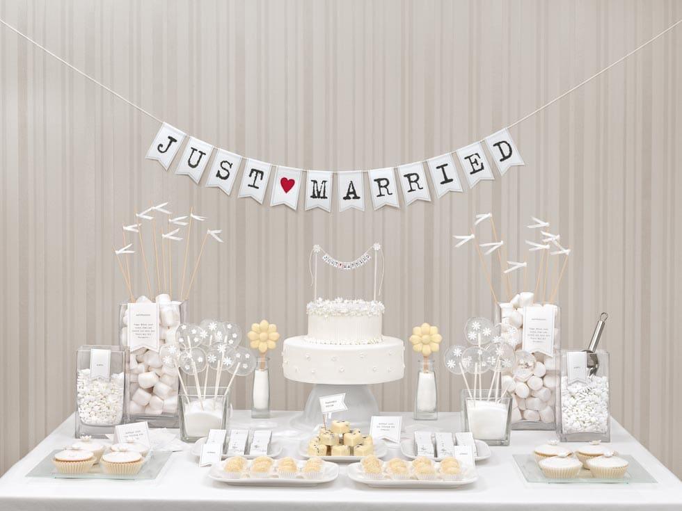 Sweet Table weiß