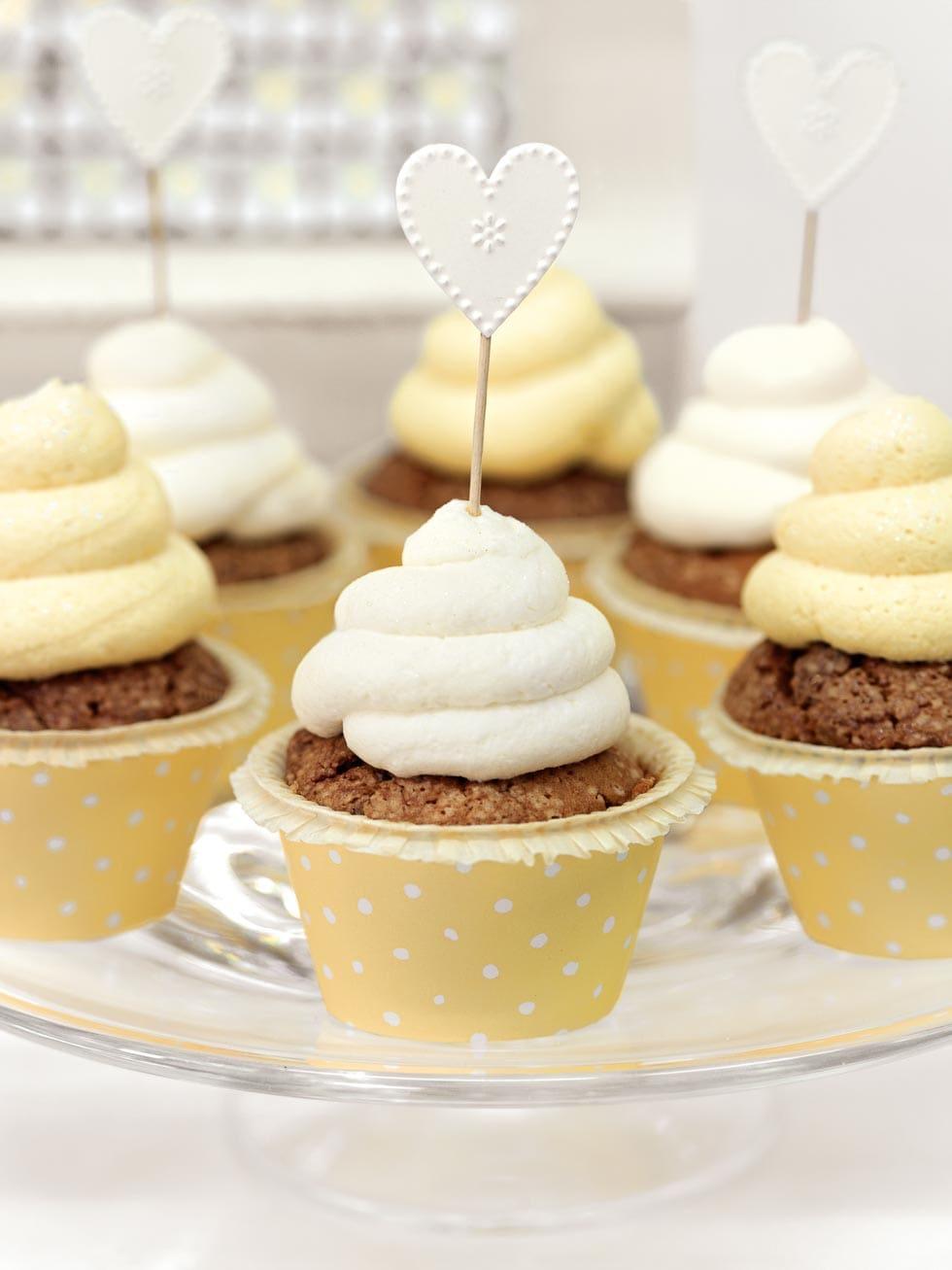 Cupcakes Gelb