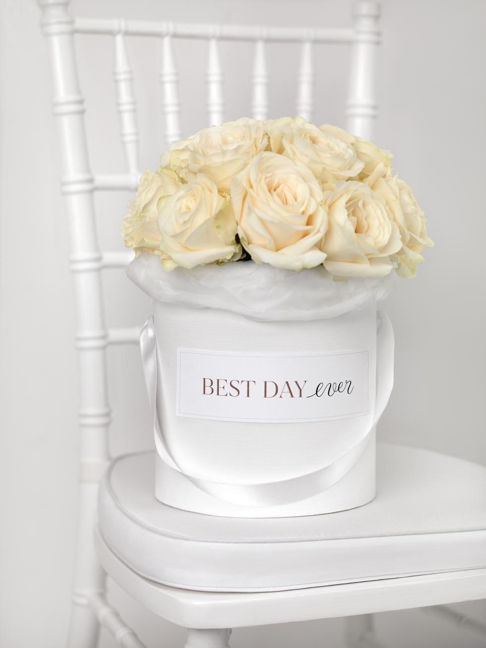 Brautstrauß Rosen gelb