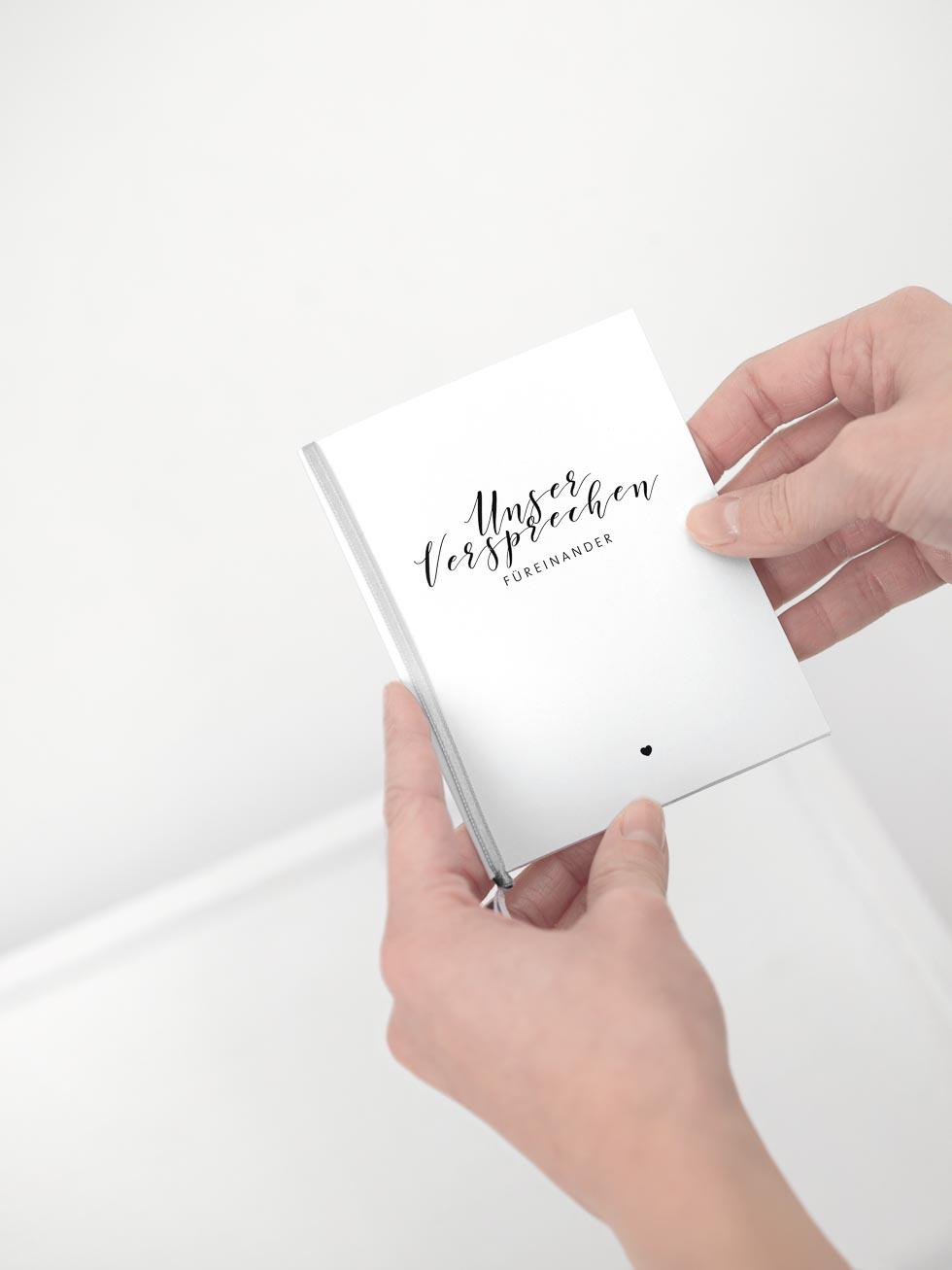 treueversprechen booklet - Ehegelobnis Beispiele