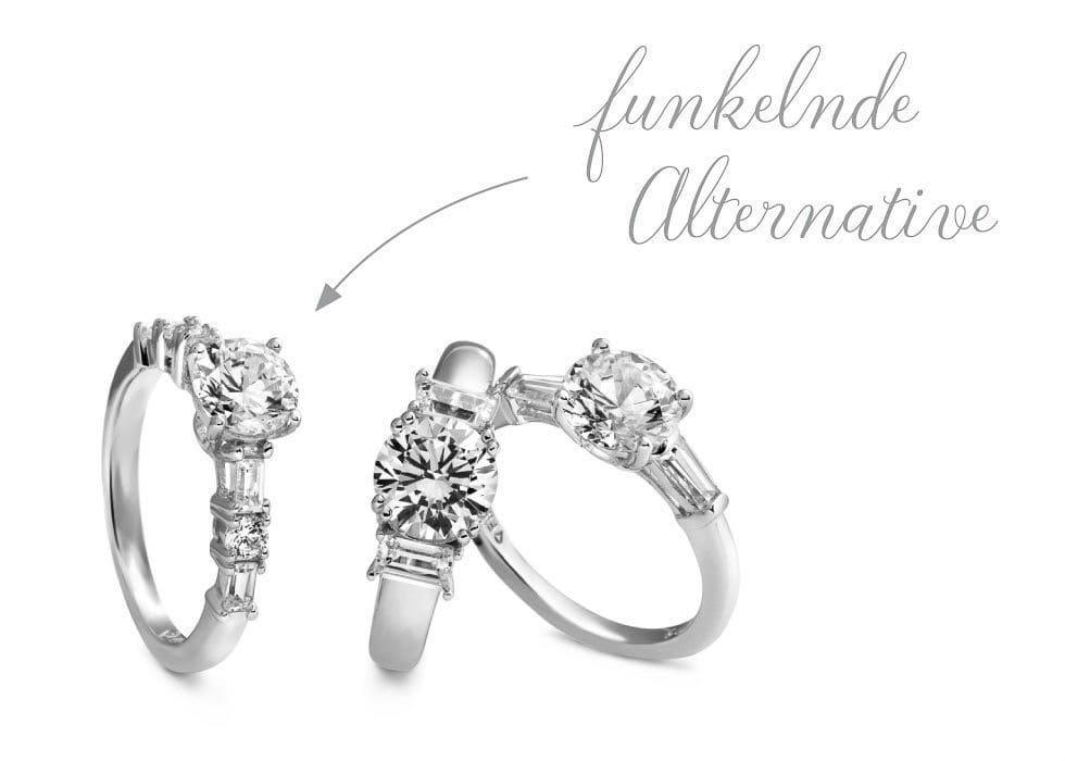 Verlobungsringe weißgold mit diamant