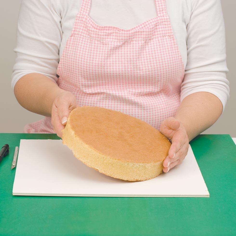 Hochzeitstorte Selber Backen Schritt 1 Naked Cake