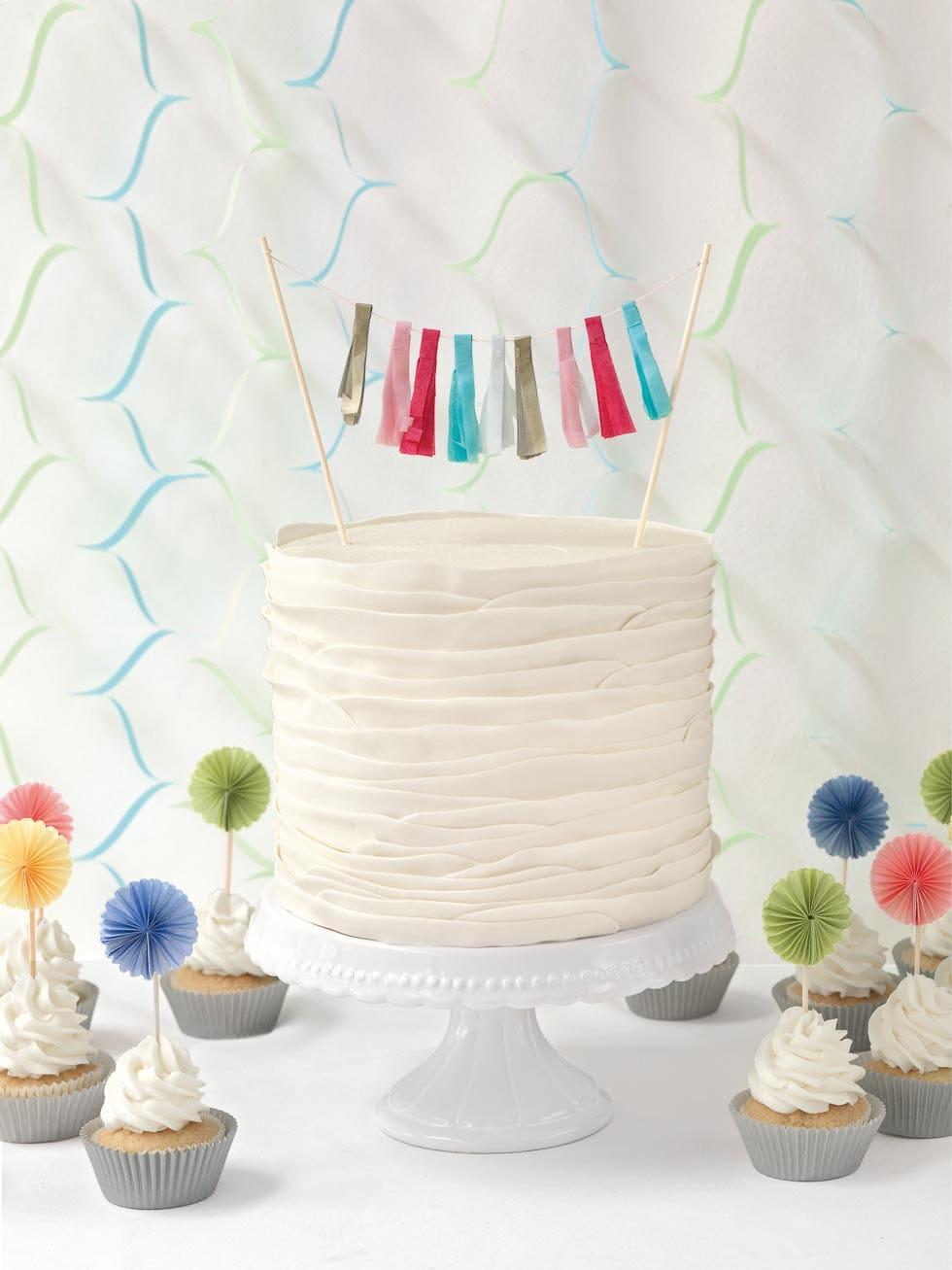 Hochzeitstorte Ruffled Cake