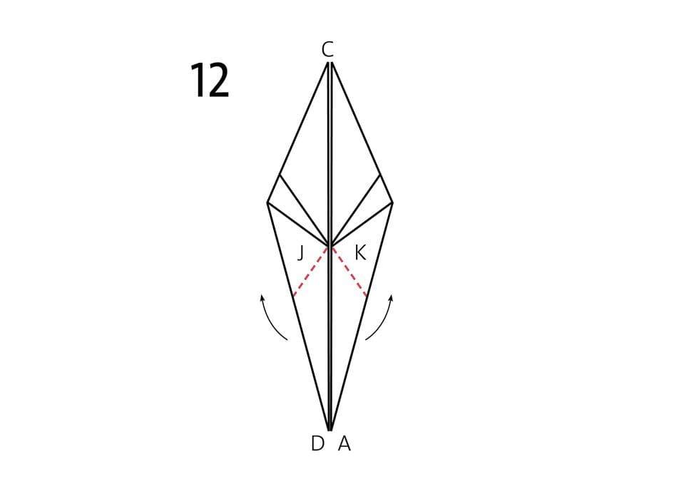 Origami Faltanleitung