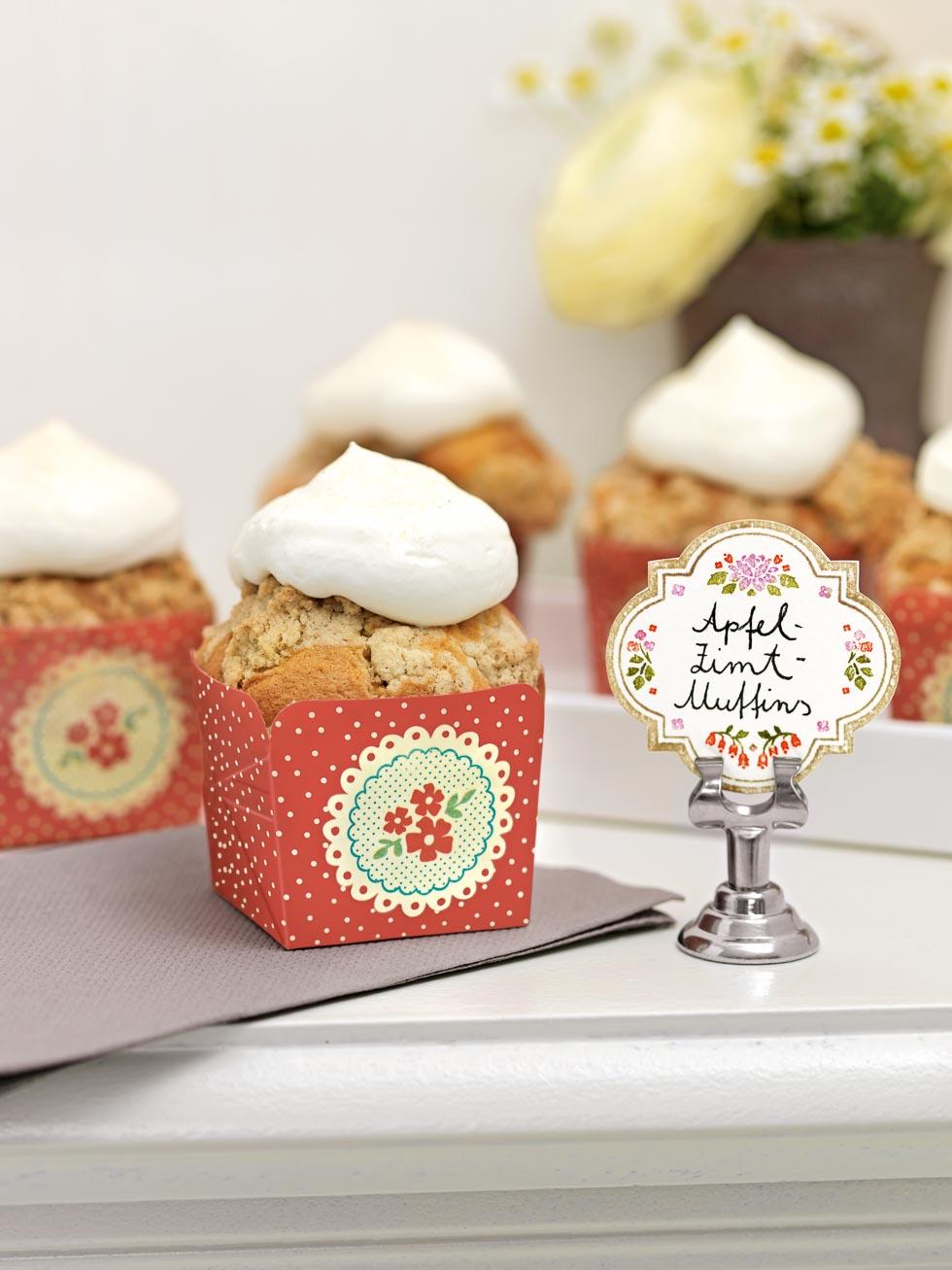 hausgemachter Cupcake