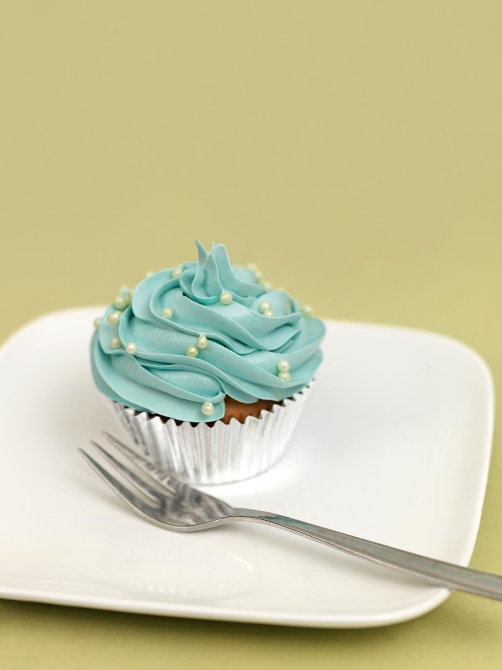 Desserttabel blau