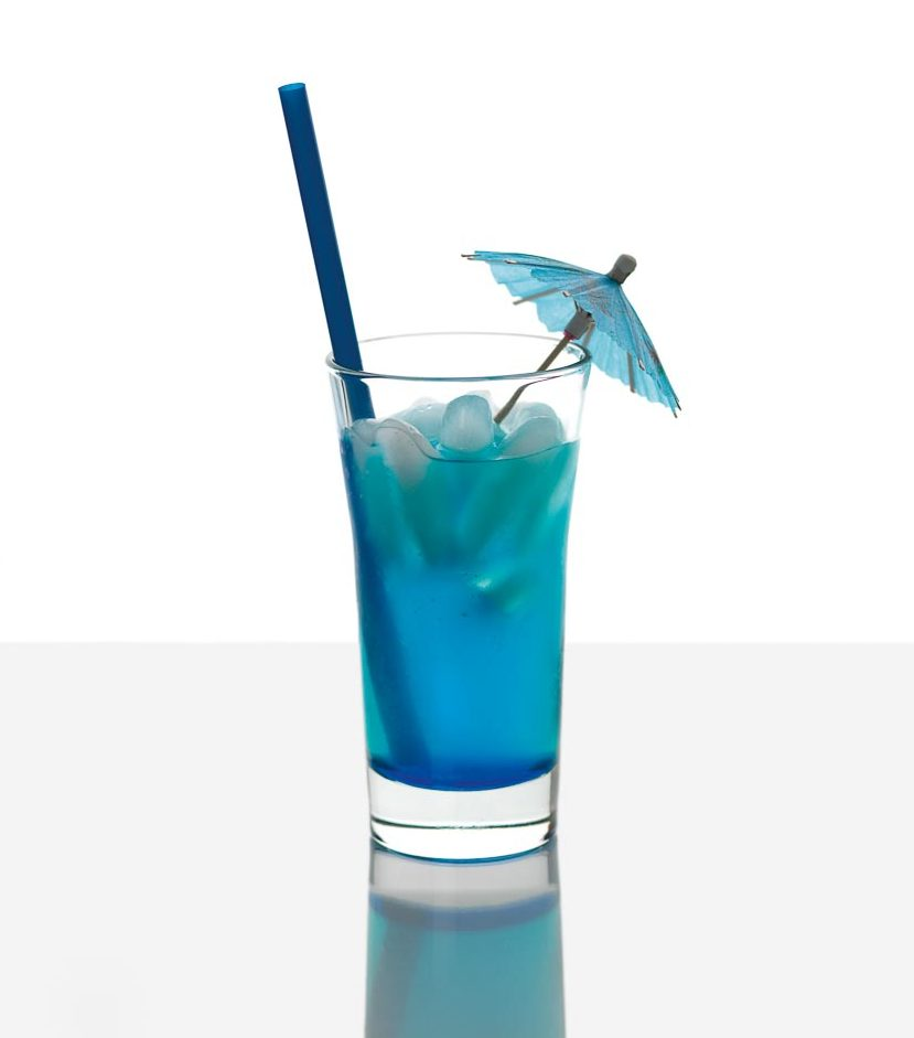 Rezept Blauer Cocktail