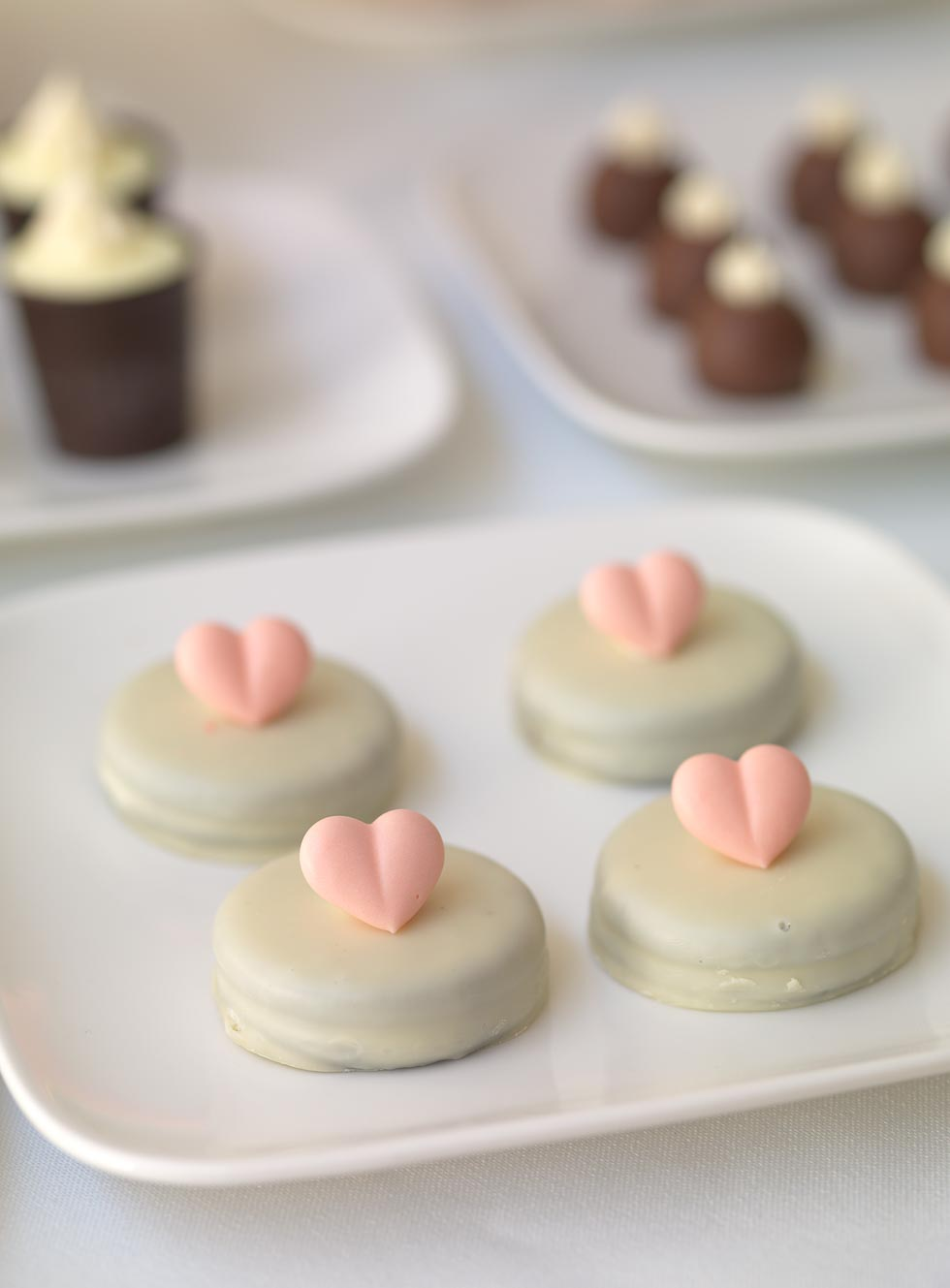 Desserttable Kekse