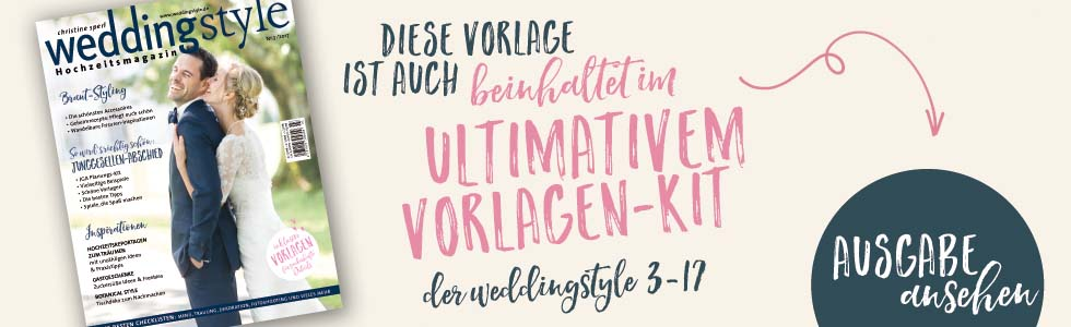 weddingstyle Ausgabe 3-17