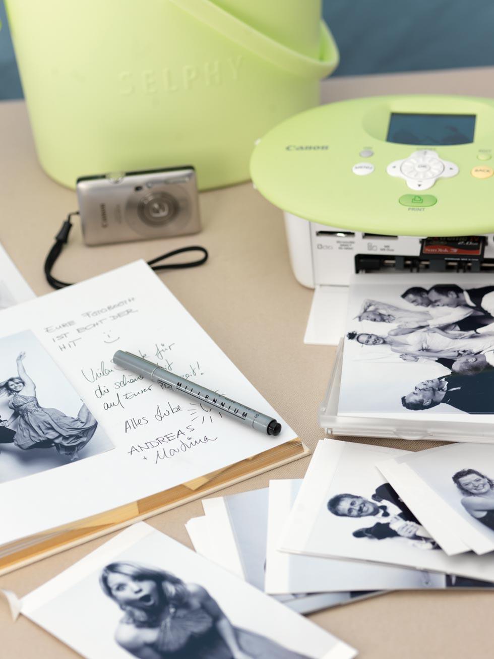 Hochzeitsgästebuch Fotos