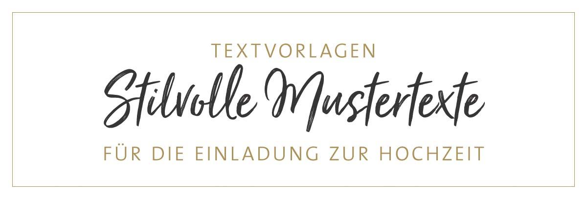 Text Einladung Hochzeit: Die Besten Mustertexte U2013 Hochzeit Planen Mit  Weddingstyle