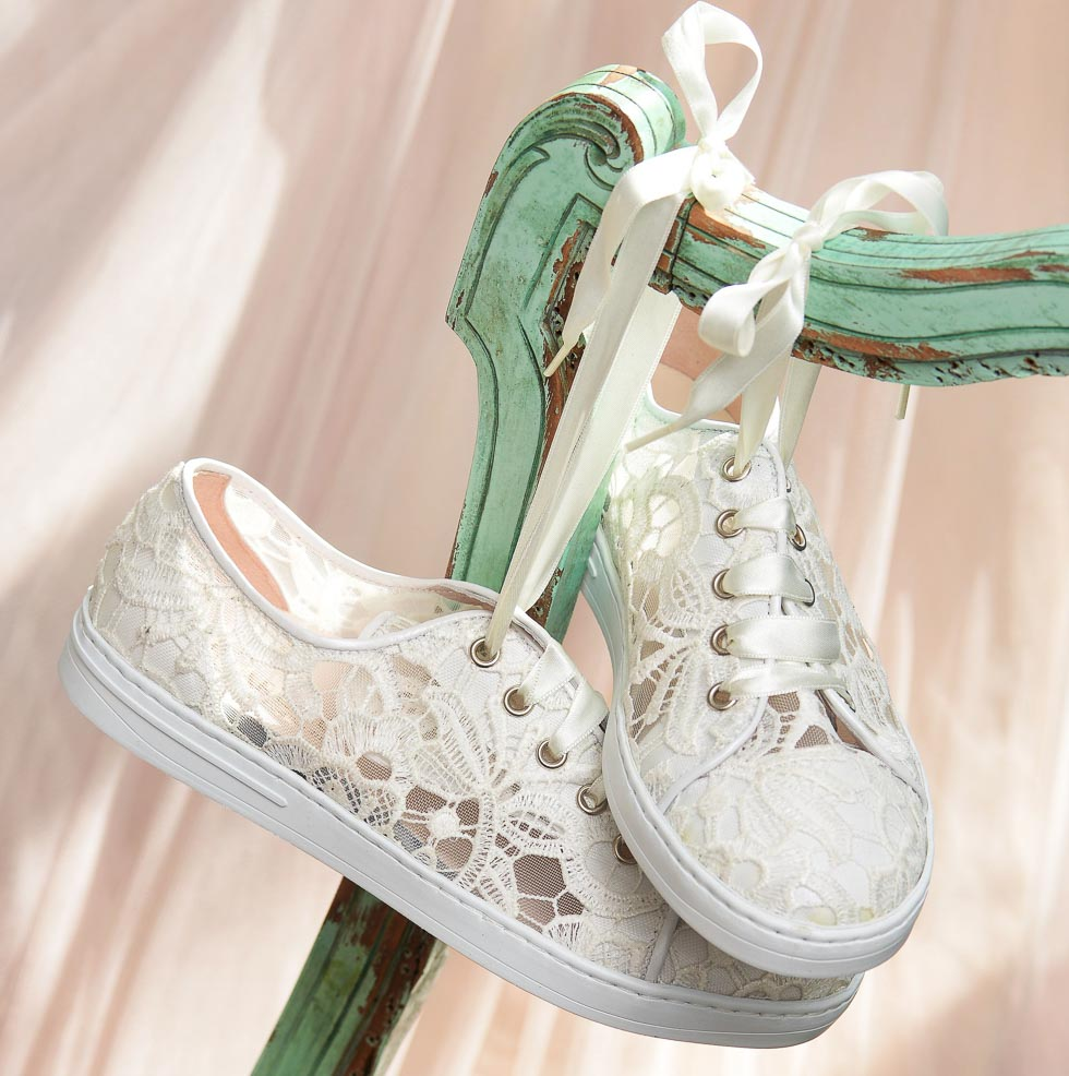 Brautschuh Sneaker