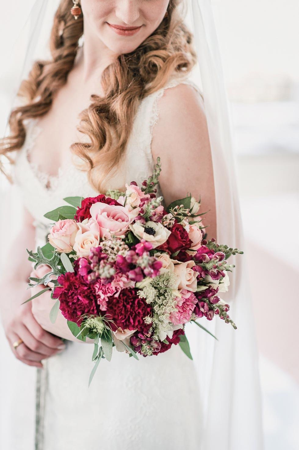 Brautstrauss Rosa Und Rot