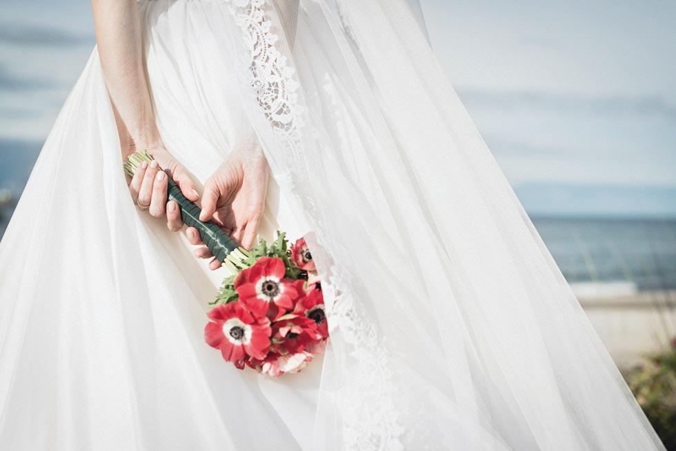 Brautstrauß Rot