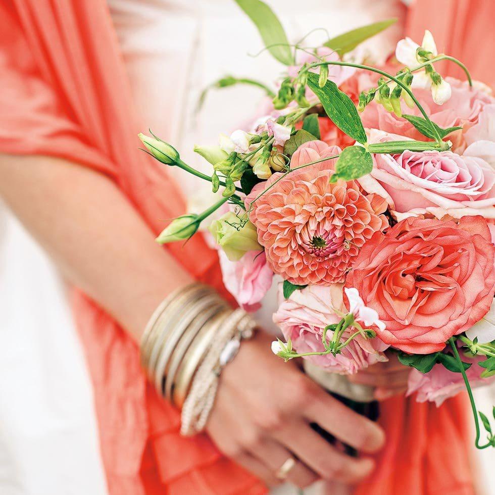 Brautstrauß Rosa und Pink
