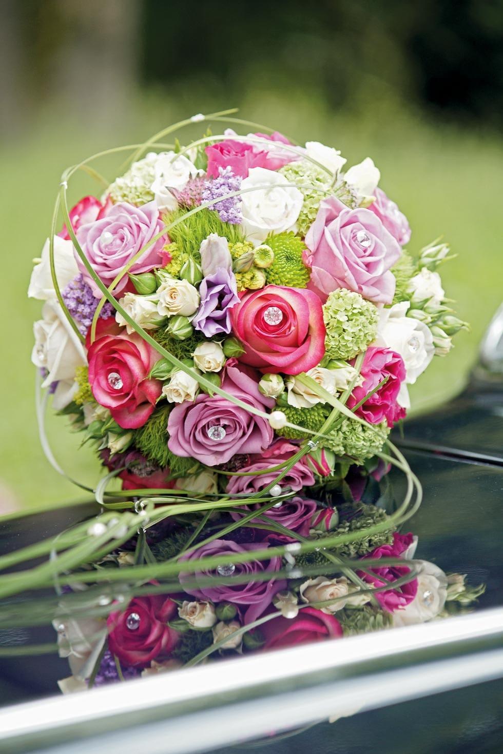 Brautstrauss Rosa Und Flieder