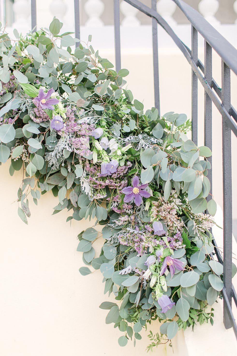 Hochzeitsdeko Eukalyptus
