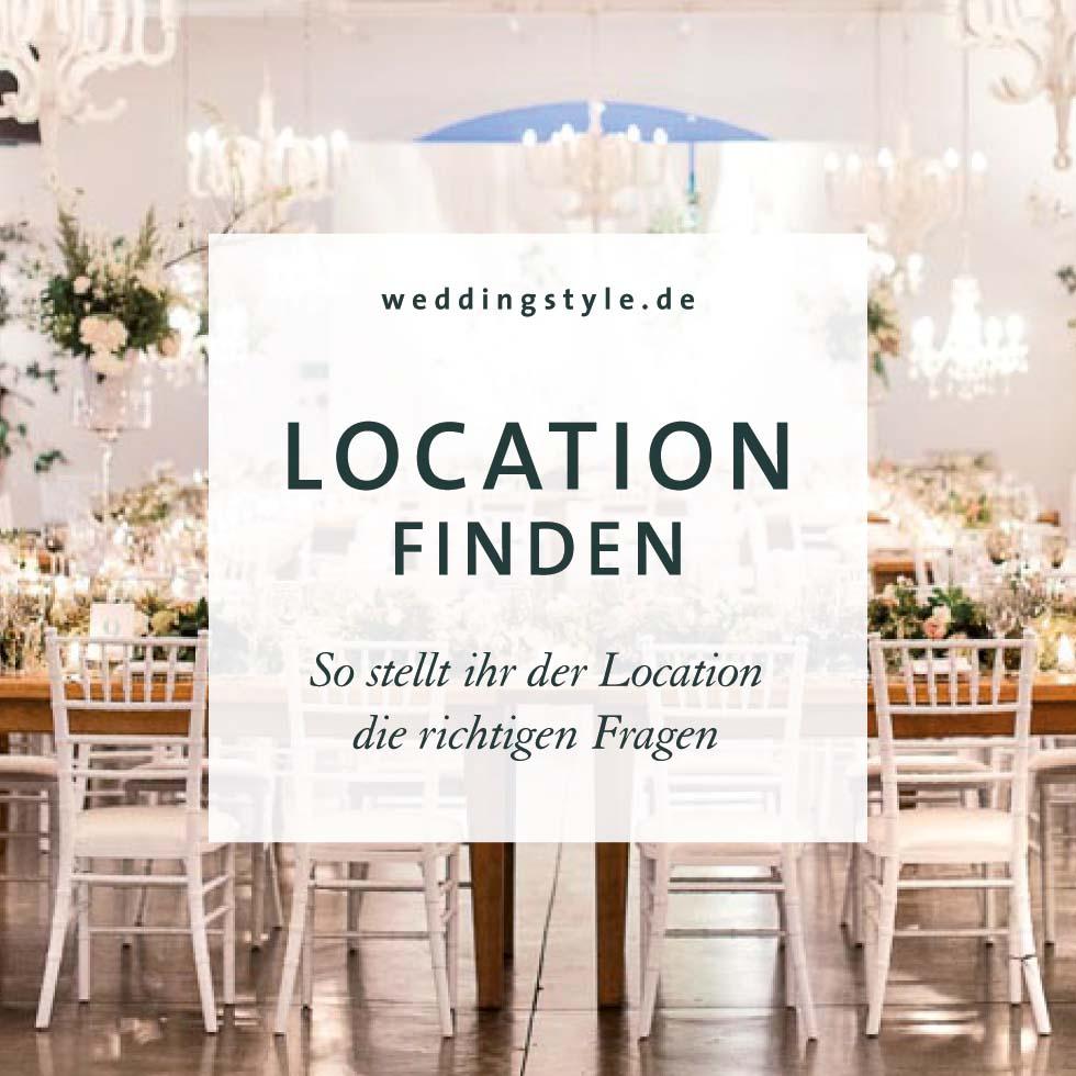Location Hochzeit Checkliste