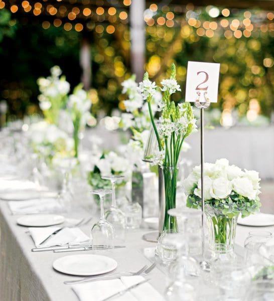 Tischdeko Tischnummer