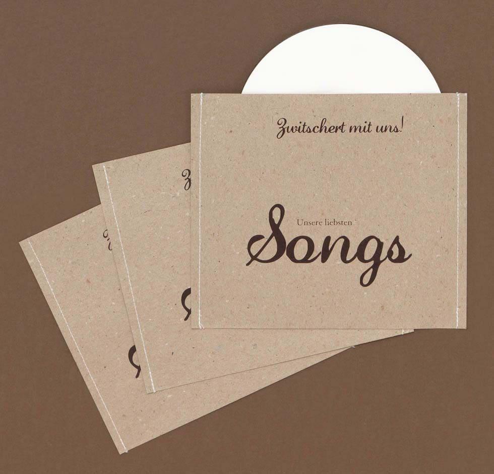 Danksagung Hochzeit CD