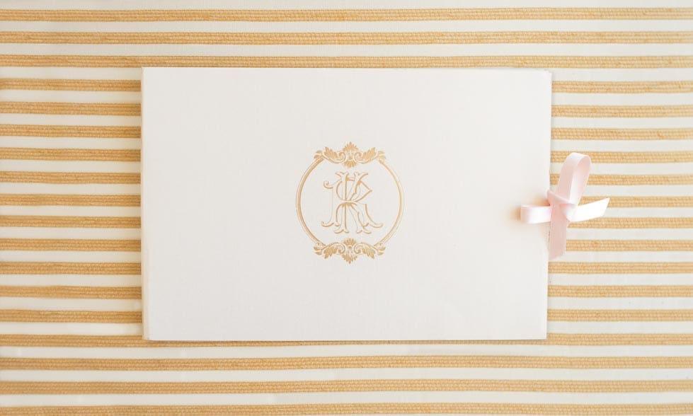 Hochzeitseinladung Gelb und Weiß
