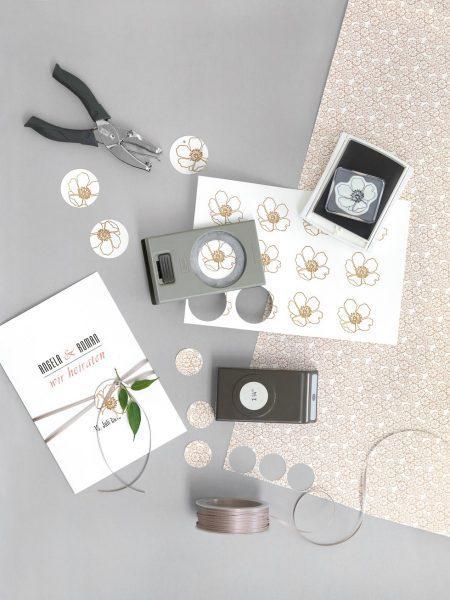 Papeterie Accessoires Weiß, Schwarz und Rosa